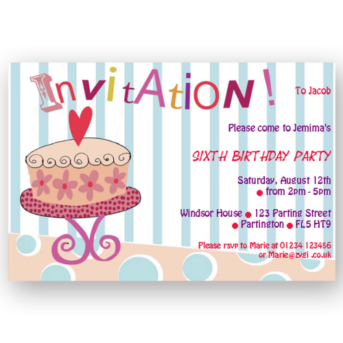 Invitation editable birthday cake editable printables invitation editable birthday cake stopboris Gallery