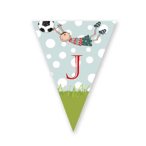 football party bunting editable