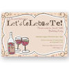 invitation editable drinks party