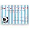 invitation editable football striped