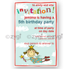 invitation editable princess fairy