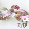 paper chain kit vintage shabby chic