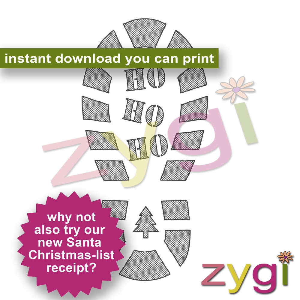 santas bootprint footprint template editable printables